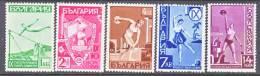 Bulgaria 352-6   **  *  SPORTS - 1909-45 Kingdom