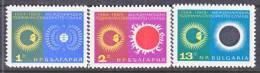 Bulgaria  1462-4   *  IQSY  SPACE  SOLAR - Bulgaria