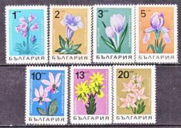 Bulgaria  1664-70   **   FLORA  BELLFLOWERS - Bulgaria