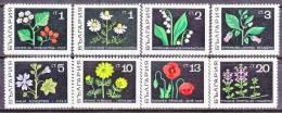 Bulgaria  1728-35   *   FLORA  FLOWERS - Bulgaria
