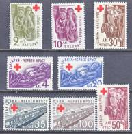 Bulgaria 504-11   *  RED CROSS - 1945-59 People's Republic