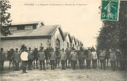 08  VOUZIERS 3em REGIMENT DE CUIRASSIERS ECURIES - Vouziers