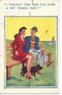 Comic Postcard Copyright Of E. Marks Fine Art Publishers Torbay Road Kilburn London NW 6 No 2053 - Humour