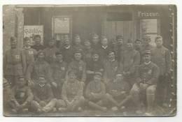 Carte Photo De Prisonniers De Guerre Français - Lager 29 à ..essen (guerre 1914-18) - Guerre 1914-18