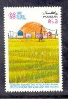 1989 PAKISTAN 10TH ANNIVERSARY OF CIRDAP AGRICULTURE VILLAGE RURAL DEVELOPMENT ELECTRIC POLES UMM. - Pakistan