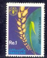 1989 PAKISTAN WORLD FOOD DAY  FAO AND WHEAT UMM. - Pakistan
