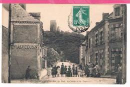 41 : FRETEVAL Rue Du Pont , Le Coteau Et La Tour  , Grosse Animation - Non Classés