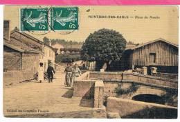 55 : MONTIERS Sur SAULX , Place Moulin - Montiers Sur Saulx