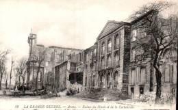 62 ARRAS RUINES DU MUSEE ET DE LA CATHEDRALE PAS CIRCULEE - Guerre 1914-18