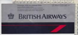 ticket  biglietti  british airways  roma london san francisco