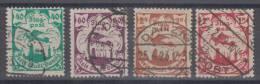 Germany Danzig Airplanes Stamps Original Overprints Mi#112,113,114,115 1923 USED - Allemagne