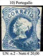 Portogallo-010 - 1853 : D.Maria