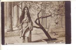 GOOD OLD RUSSIA ART POSTCARD - Ruland - Lady & Tree - Posted 1913 In Latvia - Postcards
