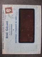 ML 30 - TB Enveloppe Affranchie Avec: N° 692 . De Plaisance Pour ...  :(21/09/1945). - Postmark Collection (Covers)