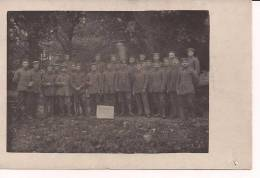 Somme Combattants Allemands Somme-fronkampfer Carte Photo Allemande  1914-1918 14-18 WWI Ww1 1.wk Poilus - War, Military