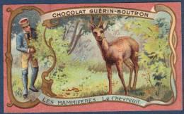 Chromo Chocolat Guerin-Boutron Les Mammifères Le Chevreuil - Guerin Boutron