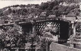 IRONBRIDGE   - THE BRIDGE FROM THE STATION - Shropshire