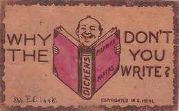 LEATHER POSTCARD - Postcards