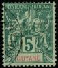 Guyane (1892) N 33 (o)