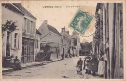 CPA - CORMES 72 SARTHE - RUE D' AUTHON - France