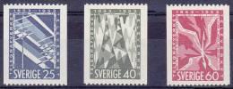 ZWEDEN - Michel - 1953 - Nr 385C/87C - MNH** - Cote 3,40€ - Suède