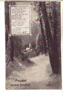GOOD OLD LATVIA POSTCARD - Church - Posted 1909 In Latvia - Noël