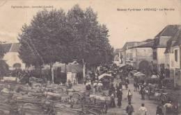 CPA - ARZACQ 64 PYRENEES ATLANTIQUES - LE MARCHE - France