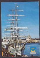 ## Finland PPC Helsinki Helsingfors Segelschiff Sailing Ship HELSINKI 1988 To BRØNSHØJ Denmark (2 Scans) - Segelboote