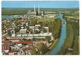 VAIRES-sur-MARNE : Vue Aérienne La Cité E.D.F. Et La Centrale Thermique - 1968 - Vaires Sur Marne