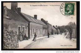 72 - LA CHAPELLE St AUBIN - LE BAS DU BOURG - CAFE DU CHEMIN DE FER GUITTON - Zonder Classificatie