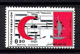 Roy. Maroc * N° 467 - Cent. De La Croix-Rouge - Maroc (1956-...)