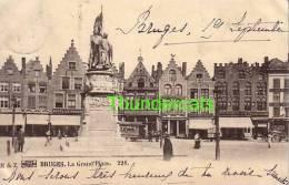 BRUGGE ** BRUGES ** 1899 !!  LA GRAND PLACE - Brugge