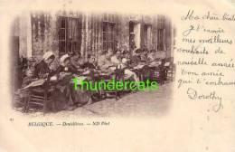 BRUGGE ** BRUGES **  ND PHOT 1900 BELGIQUE DENTELLIERES - Brugge
