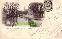 BRUGGE ** BRUGES **  ND PHOT 1900 LE CANAL & LE BEGUINAGE - Brugge