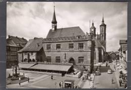 31903   Germania,   Gottingen,  Das  Rathaus  Mit Dem Ganselieselbrunnen,  VG  1961 - Goettingen