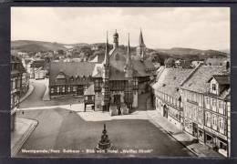 """31915   Germania,  Wernigerode/Harz,    Rathaus -  Blick  Vom  Hotel  """"Weissser  Hirsch"""",  NV - Wernigerode"""
