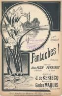 Fantoches !  - Kerlech, Gadton Maquis - Décor D'Iris - Partitions Musicales Anciennes