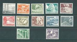 Suisse: 481/ 492 ** - Unused Stamps