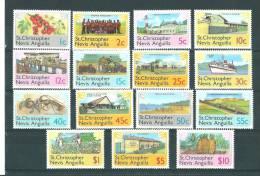 St Christopher: 379/ 393 ** - St.Christopher-Nevis-Anguilla (...-1980)