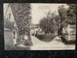 Sassetot Le Mauconduit LJ 272 Pubicité Photographe Jourdain - Fécamp