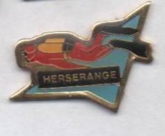 Plongée , Herserange , Homme Grenouille , Meurthe Et Moselle - Duiken