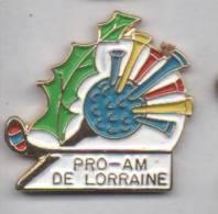 Superbe Pin´s En EGF ,  Golf , Pro-Am De Lorraine - Golf