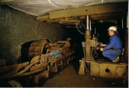 GARD -4 CARTES POSTALES NEUVES SUR LA MINE-MINE TEMOIN D´ALES.. - Mines