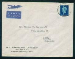 114203  Cover Lettre Brief  1947 AMSTERDAM - N.V. HANDELMIJ - PRODEX Netherlands Nederland Pays-Bas Niederlande - Periode 1891-1948 (Wilhelmina)