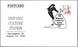 HISPANIC CULTURE - TORERO - BULLFIGHTER. Sacramento CA 1998 - Andere