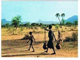 CARTE POSTALE COULEUR...BARO..TCHAD.....N° 652... - Tchad