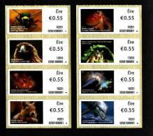 IRELAND/EIRE - 2010  ANIMALS  SELF-ADHESIVE  SET  MINT NH - 1949-... Repubblica D'Irlanda