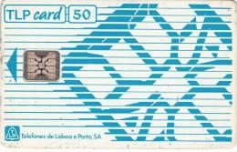 PORTUGAL - TLP Telecard 50 Units, CN : C2B140710(chip ST4), 08/92, Used - Portugal