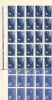 ECLIPSES ECLIPSAS ECLIPSE ROMANIA RUMANIA ROUMANIE 1961 COMPLETE SET 100 OF EACH OBLITERE SANS GOMME TBE - Europa