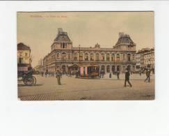 BELGIUM - [OF #11409] - BRUXELLES LA GARE DU NORD - TRAM TRAMWAY - Non Classés